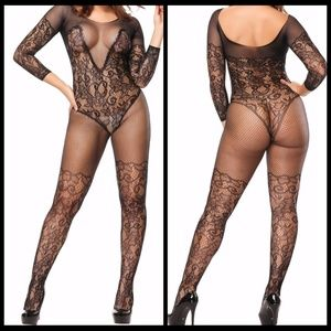 ❤️NEW Sexy Lace Bodystocking Lingerie #L011